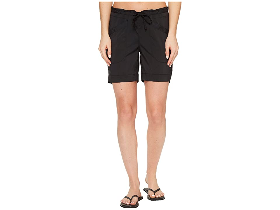 ExOfficio Sol Cool Shorts (Black) Women