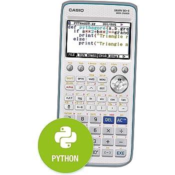 Casio Graph 90+E Calculatrice Graphique avec Python
