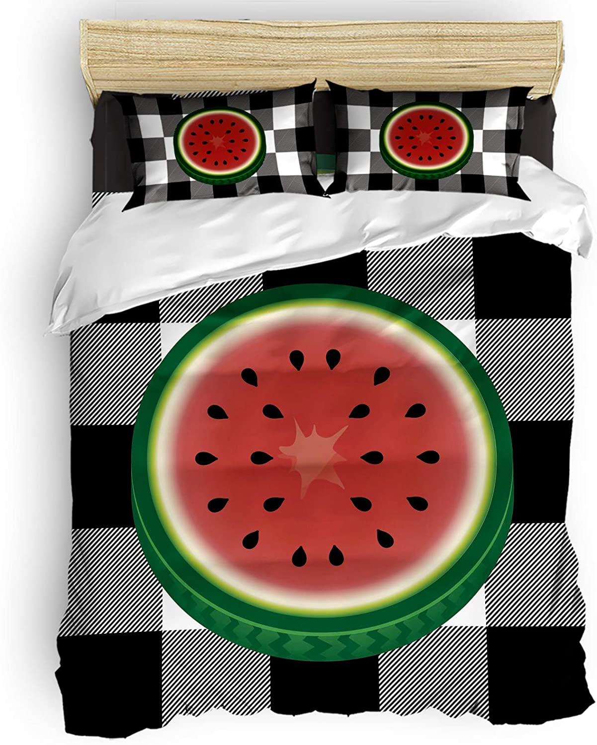 Cal. King Comforter Covers Sets Rustic Close-up Cheap mail order shopping Summe Watermelon specialty shop