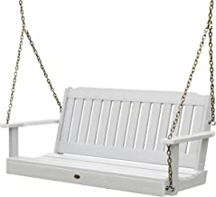 Highwood AD-PORL2-WHE Lehigh Porch Swing, 4 Feet, White