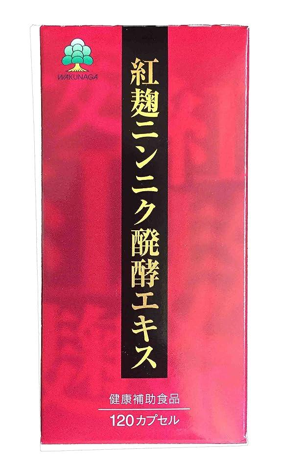 増幅器予想するジュニア【湧永製薬】紅麹ニンニク醗酵エキス 42g(352mg×120粒)