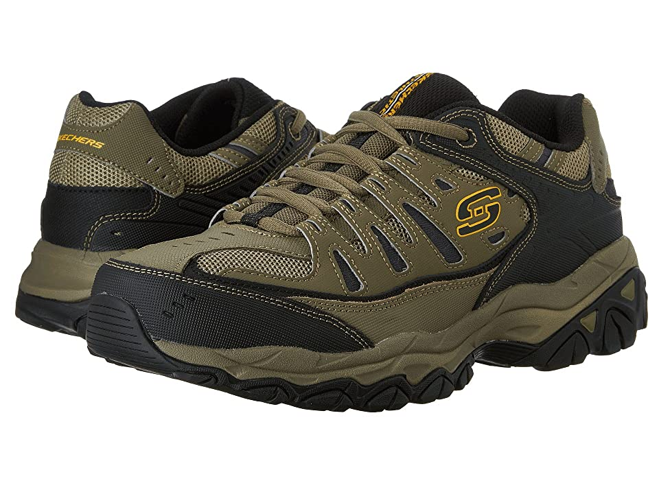 SKECHERS Afterburn M. Fit (Pebble/Black/Pebble) Men