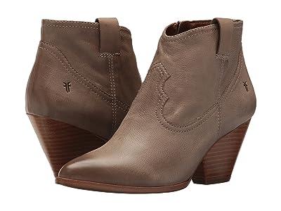 Frye Reina Bootie (Ash) Cowboy Boots