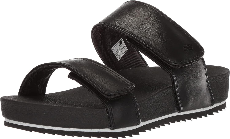 Woherren City Slide Sandal, schwarz, 12 D D US