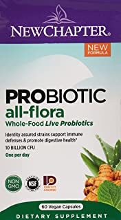 NEW CHAPTER Probiotic All-Flora, 60 Vegetarian Capsules