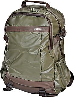 Magellan Laptop Backpack for Men, Grey - LSB8043