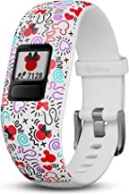 Garmin vivofit jr. 2, Kids Fitness/Activity Tracker, 1-Year Battery Life, Adjustable Band, Disney Minnie Mouse