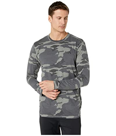 RVCA VA Sport Vent Long Sleeve Top (Camo) Men