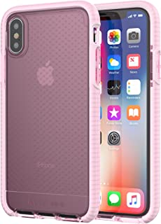 "tech21 Evo Check 14,7 cm (5.8"") Cover Rosa, Bianco"