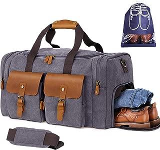 Flipzon Duffel Bag Travel Duffle Bag Overnight Weekender Bag for Men Women Large Luggage Bag Gym Bag Carry On Travel Bag