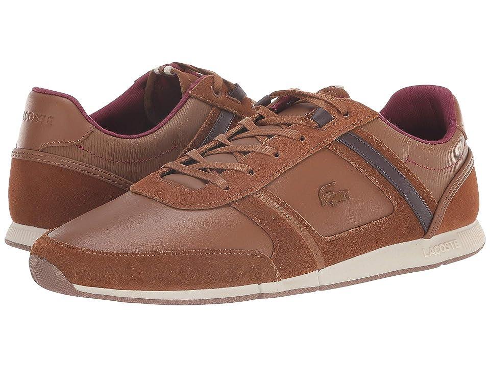 Lacoste Menerva 318 1 (Brown/Dark Brown) Men