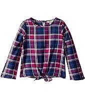 Lucky Brand Kids - Dana Yarn-Dye Plaid Top (Little Kids)