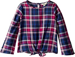 Lucky Brand Kids - Dana Yarn-Dye Plaid Top (Little Kids)