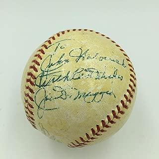 1960 Joe Dimaggio Single Signed American League (Joe Cronin) Baseball - PSA/DNA Certified - Autographed Baseballs