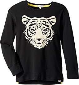 Appaman Kids - Super Soft Tiger Style Long Sleeve Tee (Toddler/Little Kids/Big Kids)