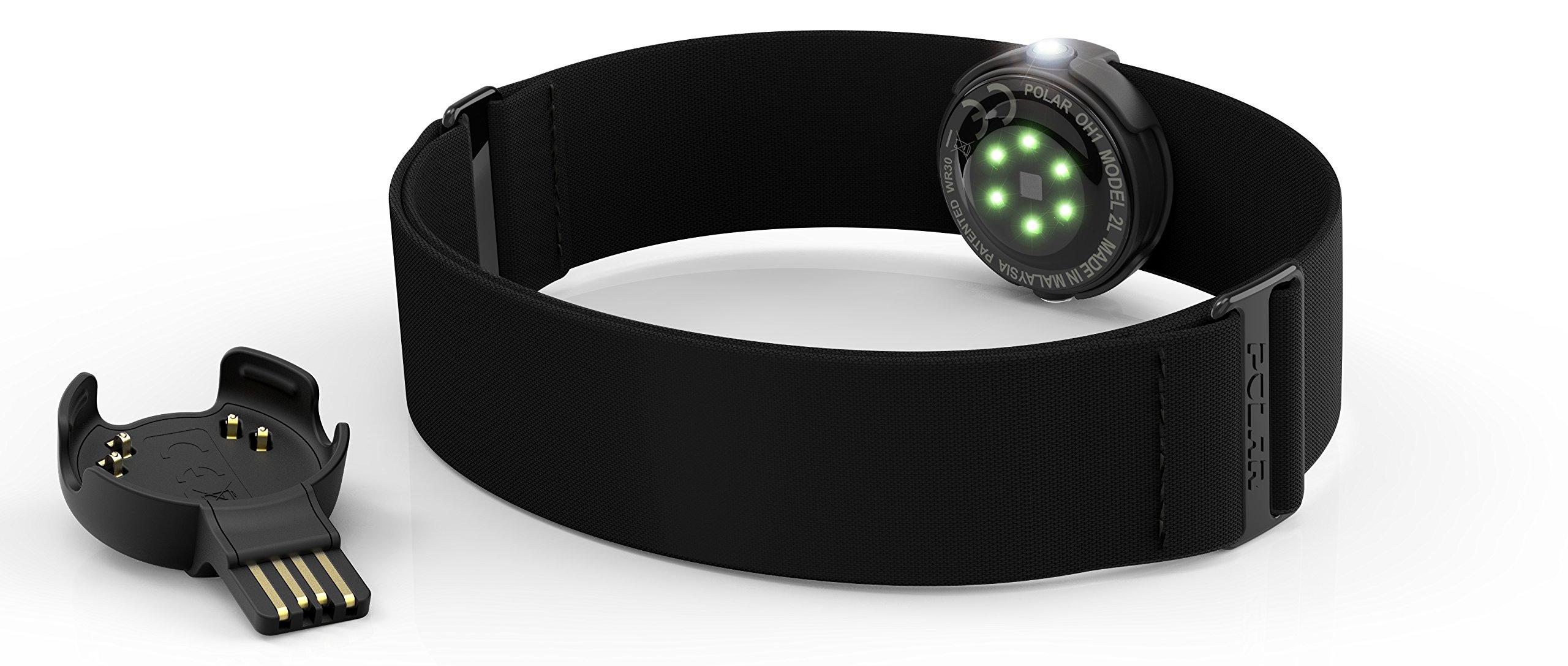 Polar OH1 Sensor Óptico de Frecuencia Cardíaca, Unisex Adulto ...