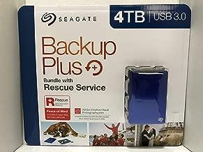 SEAGATE BACKUP PLUS PORTABLE HARD DRIVE USB 3.0 (4TB)