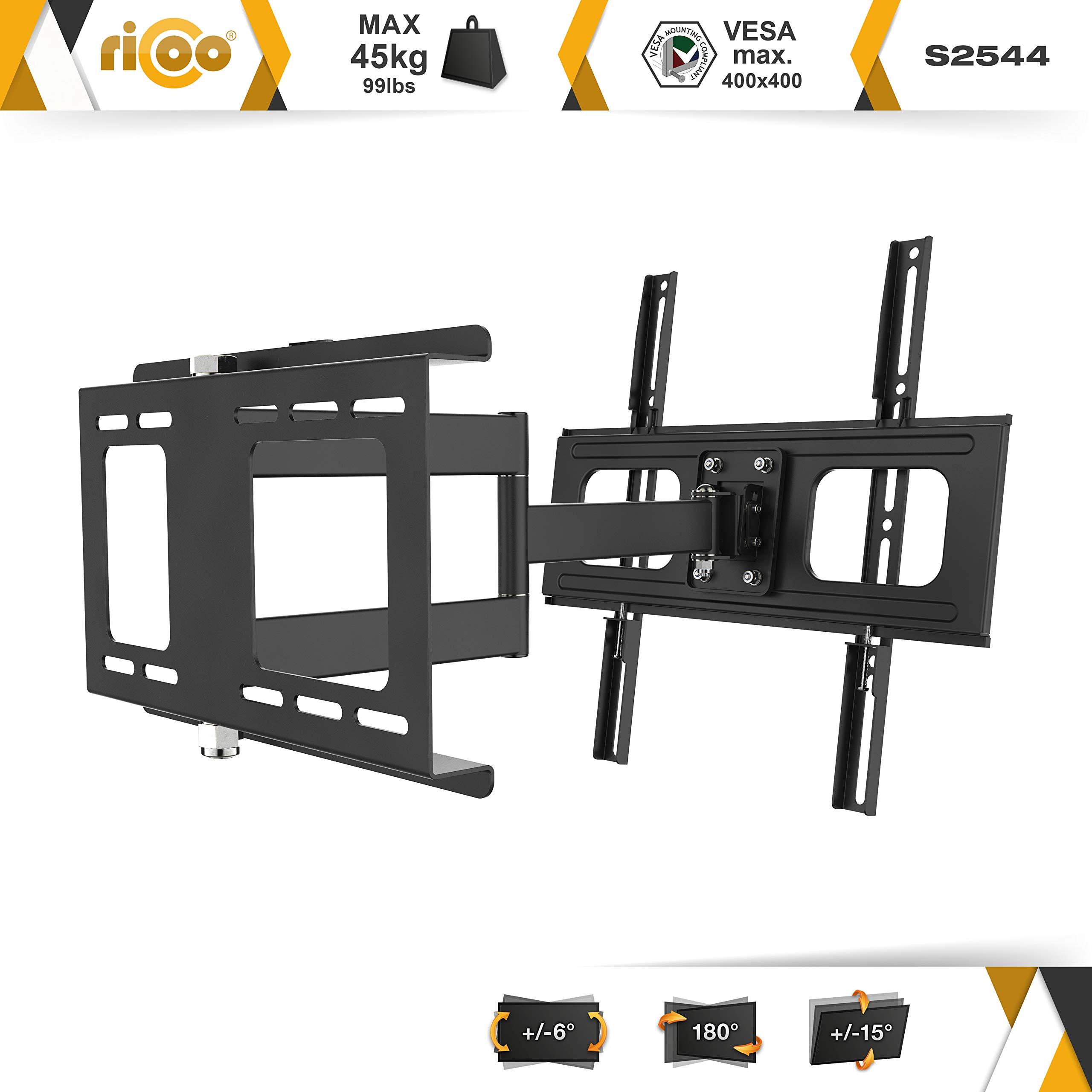 RICOO S2544, Soporte TV Pared, Giratorio, Inclinable, Televisión ...