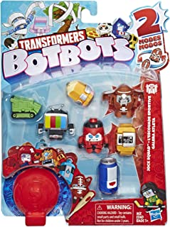 Transformers E4144 Botbots Toys Series 1 Jock Squad 8 Pack -- Mystery 2-in-1 Collectible Figures!