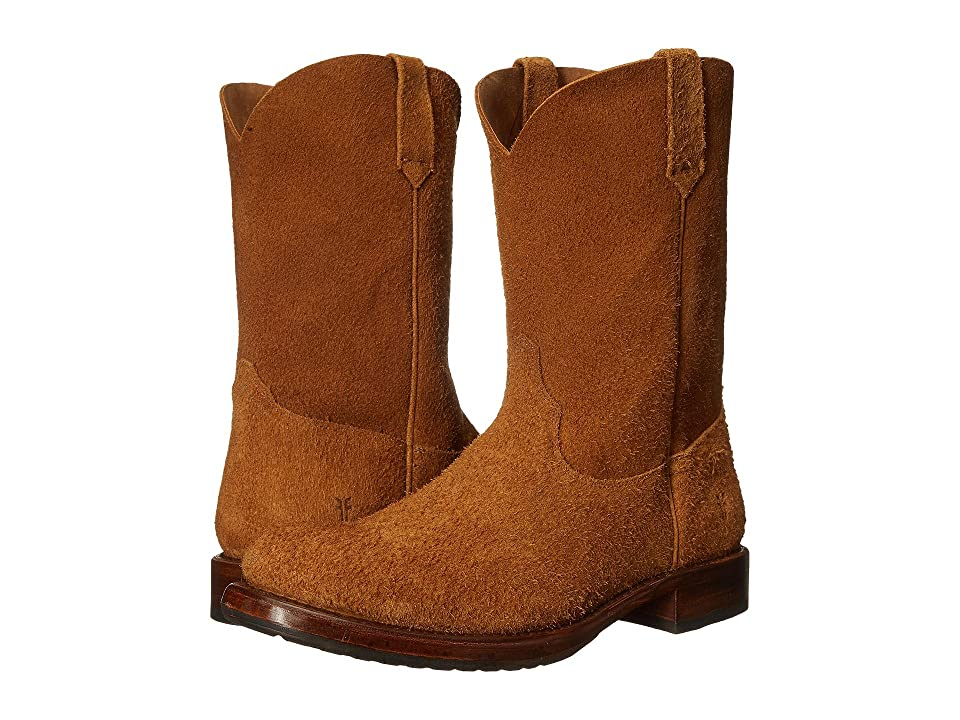 Frye Duke Roper (Tan Oiled Suede) Cowboy Boots