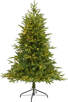 """5ft. Colorado Mountain Fir """"Natural Look"""" Artificial Christmas Tree with 250 Clear LED Lights"""