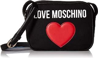 LOVE Moschino Women's Canvas Camera Bag