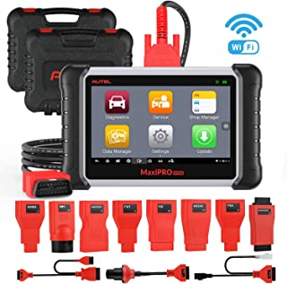 Autel MaxiPRO MP808K Automotive Diagnostic Scan Tool with Key Fob Programming, Active Tests, OE-Level All Systems Diagnosis, Auto VIN, Oil Reset, SAS, EPB, DPF, Same with MaxiSys MS906