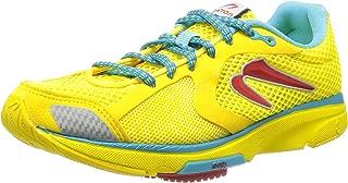 Newton Running Womens Distance Iii Running Casual Shoes, Yellow, 5.5