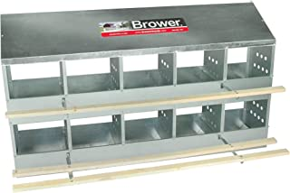 Brower 410B Poultry 10-Hole Nest