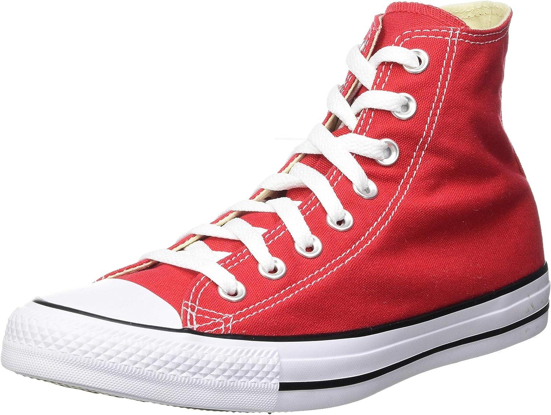 Converse Chuck Taylor Hi Top Red Shoes M9621 Mens