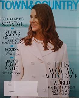 Town & Country Magazine (Summer, 2019) Melinda Gates Cover