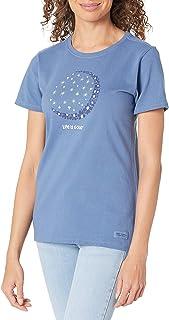 LIFE IS GOOD Womens Womens Crusher Graphic T-Shirt