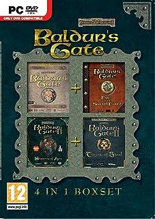 Baldur's Gate: 4 in 1 Box Set (PC DVD)