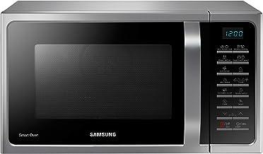 Samsung Microondas combinadas MW5000H MC2BH5015AS/EG con grill y aire caliente, 900 W, 28 L (extra grande), 51,7 cm de ancho, programa de levadura, yogur, color plateado