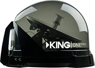 KING KOP4800 One Pro Premium Satellite TV Antenna - Works with Dish, DIRECTV, or Bell (Canada)