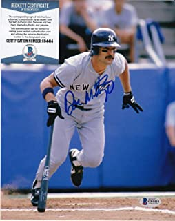Autographed Don Mattingly Picture - BECKETT 8x10 - Beckett Authentication - Autographed MLB Photos