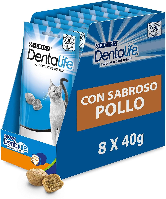 snacks higiene dental gatos Purina
