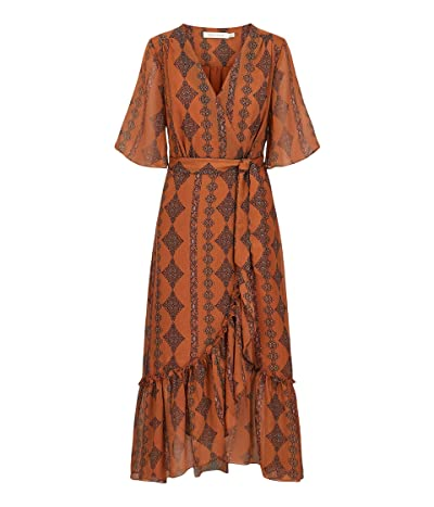 Bishop + Young Delfina Wrap Dress (Zoya Print) Women