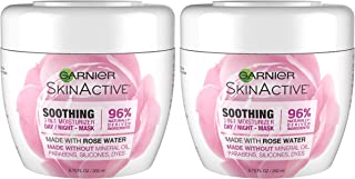 Garnier SkinActive 3-in-1 Face Moisturizer with Rose Water,  6.7 Fl Oz (Pack of 2) (Packaging May Vary)