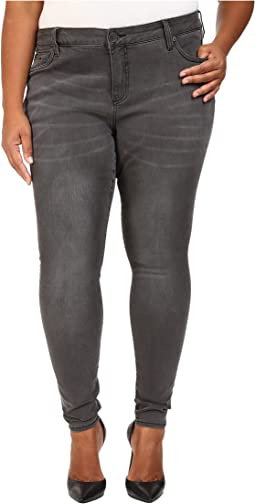 KUT from the Kloth - Plus Size Mia Toothpick Skinny Jeans in Related