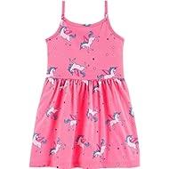 Girl Sleeveless Babydoll Tank Dress