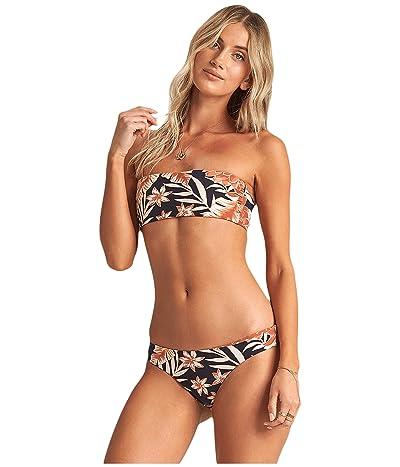 Billabong Shadow Play Lowrider Reversible Bikini Bottoms (Multi) Women