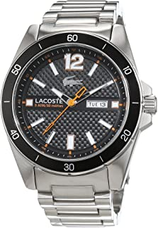 Lacoste 2010832 Stainless Steel Round Analog Watch for Men - Silver