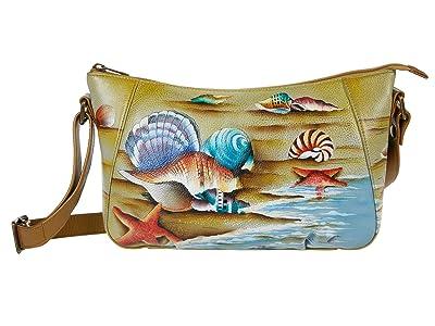 Anuschka Handbags Everyday Shoulder Hobo 670 (Gift of the Sea) Handbags