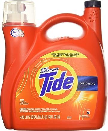 Tide Original 037000777335 High Efficiency Laundry Detergent 150 Oz / 4.43L Mega Value Size -