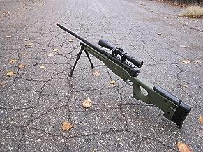 wellfire mk96 bolt action awp sniper rifle w/ scope and bipod - od(Airsoft Gun)
