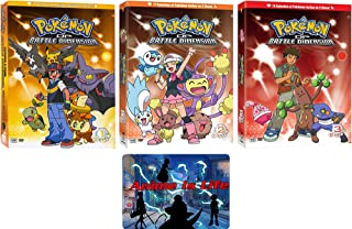 Pokemon Diamond and Pearl Battle Dimension: Complete Series DVD Box Set Collection with Bonus Art Card