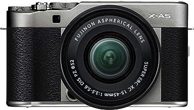 Fujifilm X-A5 Systemkamera (24,2 Megapixel) inkl. XC15-45mmF3.5-5.6 OIS PZ Objektiv, Dunkelsilber
