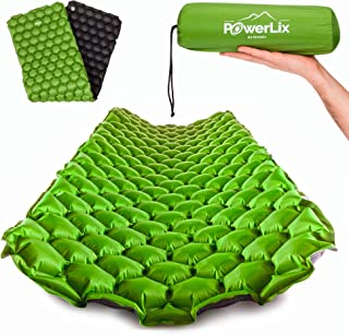 POWERLIX Sleeping Pad - Ultralight Inflatable Sleeping...