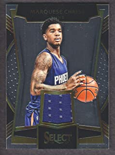 2016-17 Select Basketball Rookie Swatches #28 Marquese Chriss Jersey Phoenix Suns